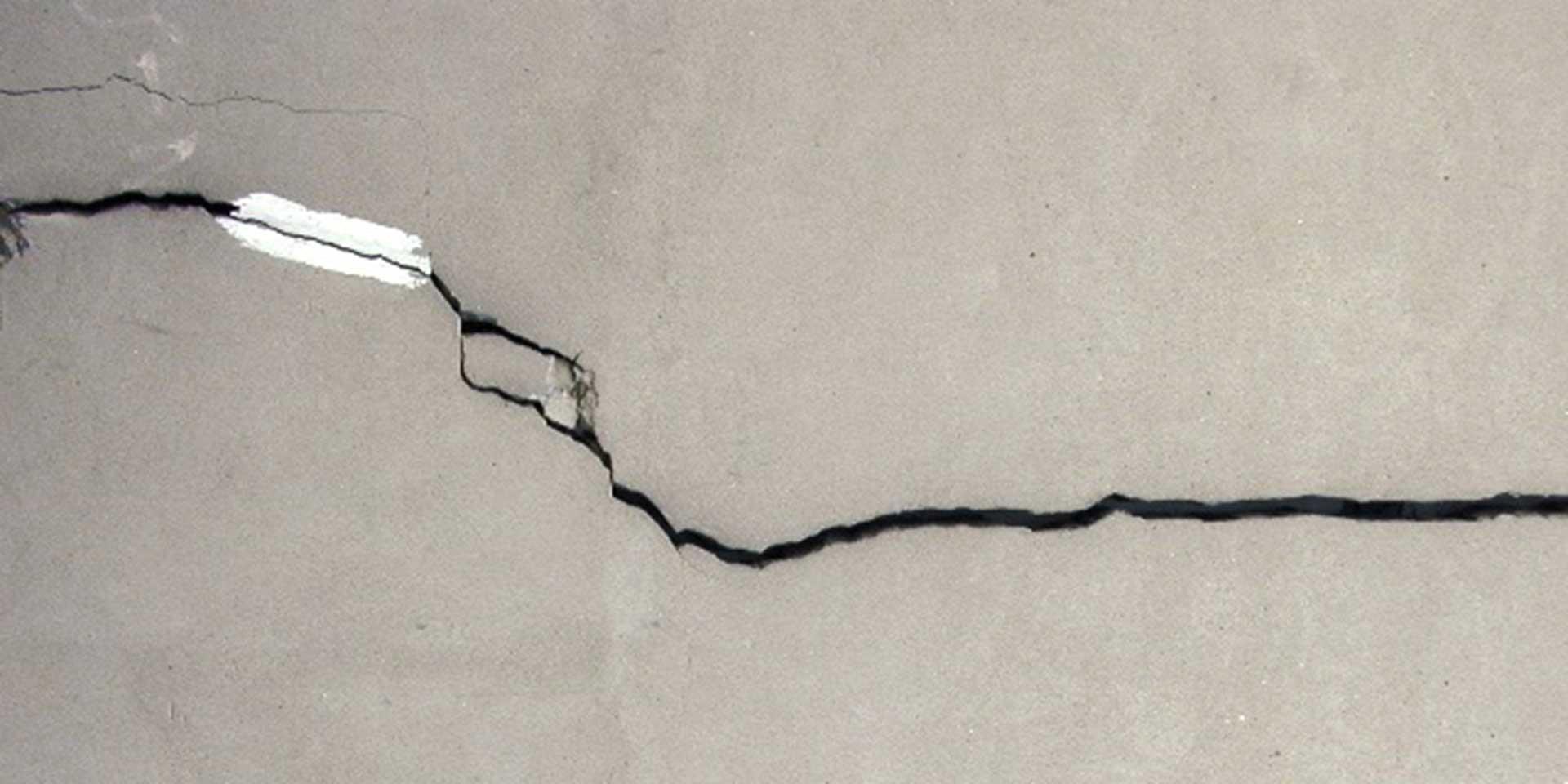 crepe pericolose nei muri