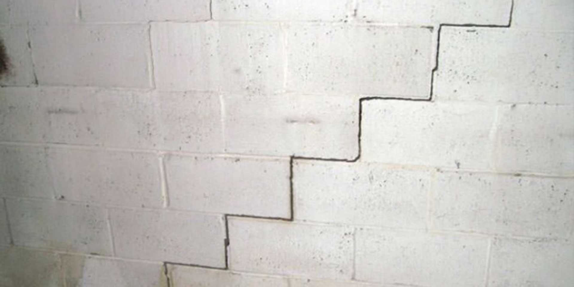 crepe nei muri esterni