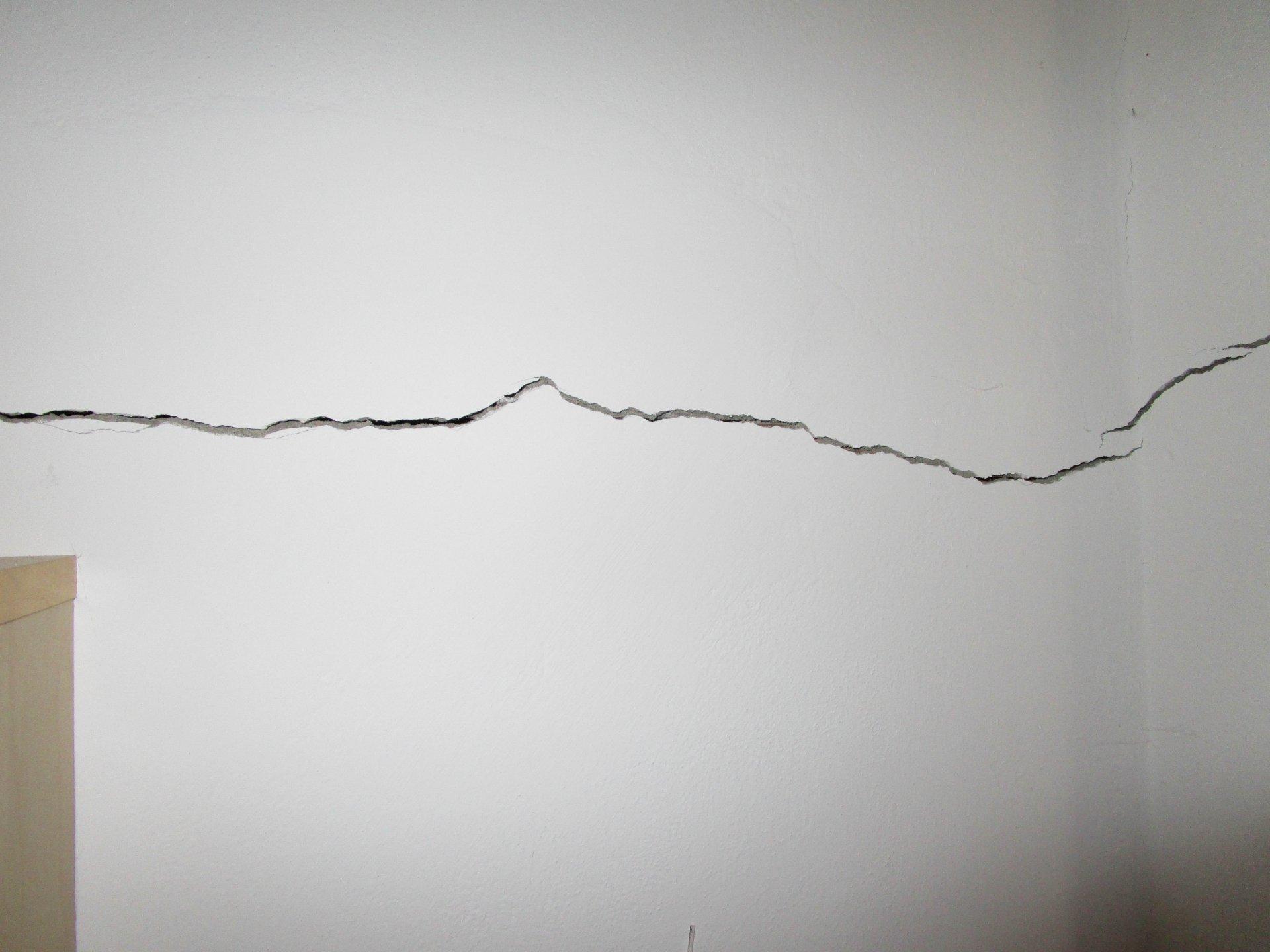 crepe orizzontali alle pareti