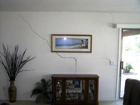 lesioni sui muri